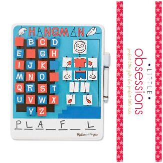 Melissa and Doug Wooden Hangman Game