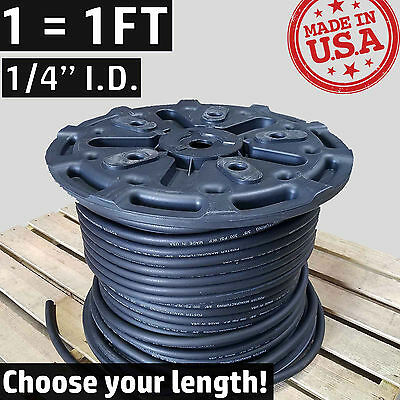"""1/4"""" Synthetic Rubber -4 AN Fuel Line Coolant Push-On Air Hose Push Lok Loc Lock"""