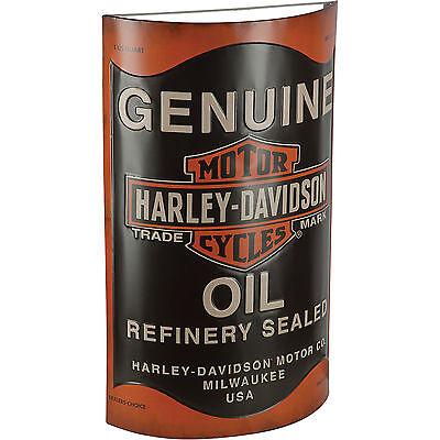 Harley-Davidson Oil Can Metal Sign