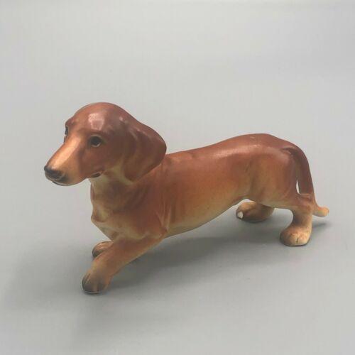 Vintage Mid Century Dachshund Dog Figurine by Lefton Japan