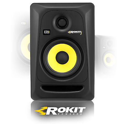 KRK Rokit RP5G3 Two-way Active Powered Speaker Studio Monitor Black 50w (Single)