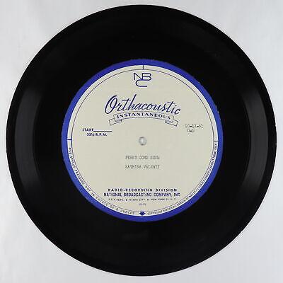 """Soul Jazz Bossa Acetate 10"""" - Caterina Valente - Perry Como Show 10/17/61 - mp3"""