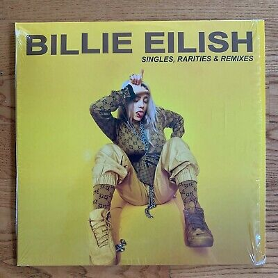 Billie Eilish - Singles, Rarities & Remixes [1LP] Vinyl 2019 Yellow Record X/500