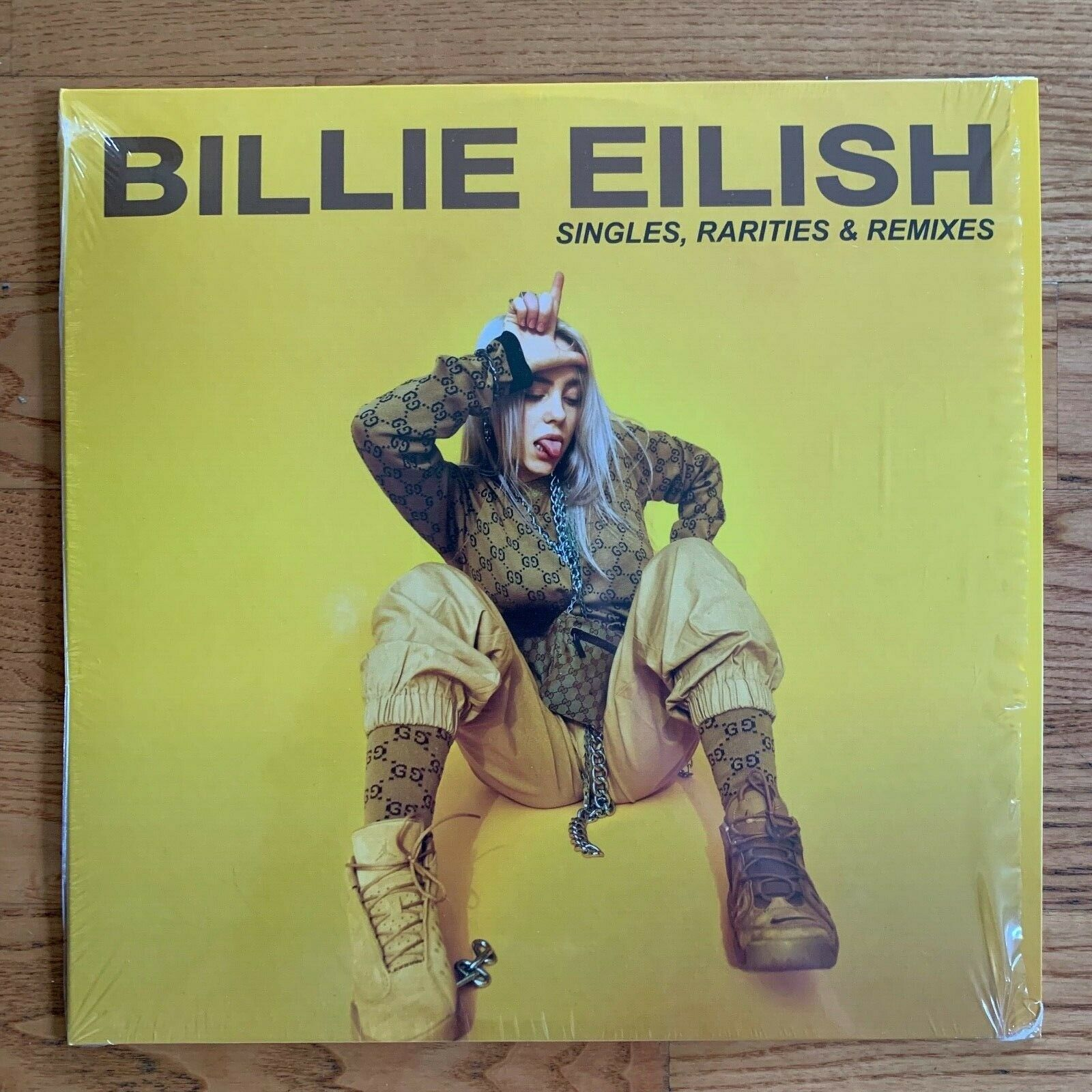 Billie Eilish - Singles, Rarities & Remixes [1LP] Vinyl 2019 Yellow Record X/500