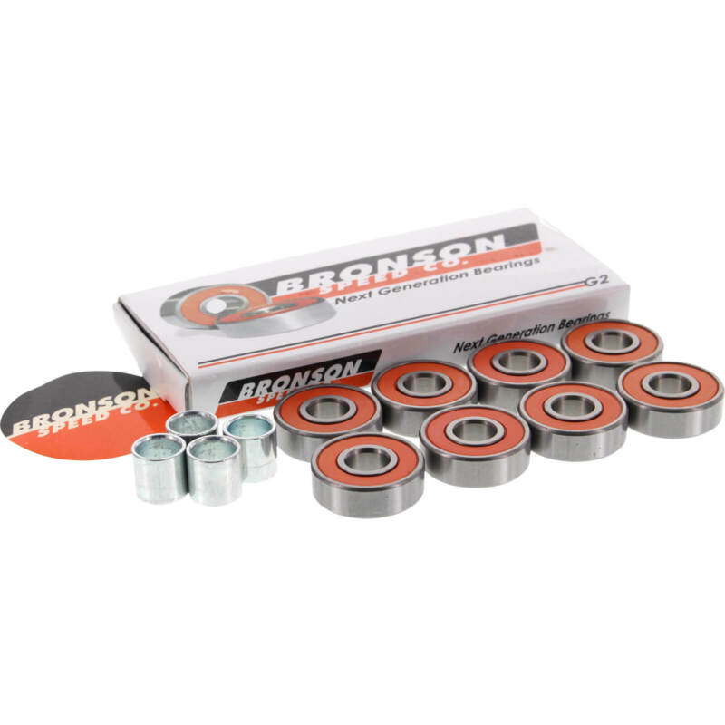 Bronson Speed Co  8mm G2 Skateboard Bearings