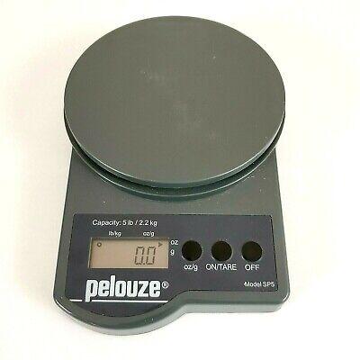 Digital Pelouze Sp5 Postal Scale 5 Lb Capacity
