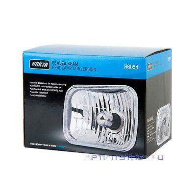"H6054 Nokya Sealed Beam Headlight Conversion 7x6"" (200mm) 1pc SAE / DOT NOK2212S"