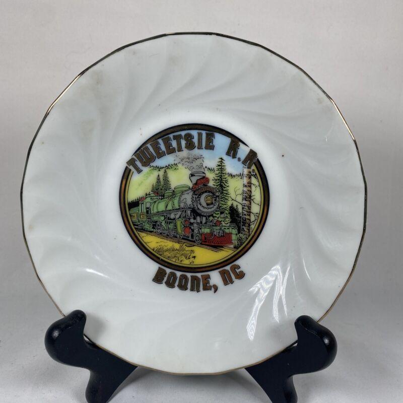 Tweetsie Railroad Souvenir Plate 5.5 Inch