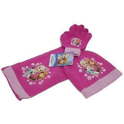 Frozen cappello guanti sciarpa invernale elsa anna 41835