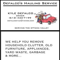 Hauling/ junk removal service