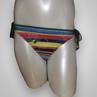Sloggi Swim Grey Candy Tanga - Größe 42 - Bikini - Unterteil - Neu mit Etikett