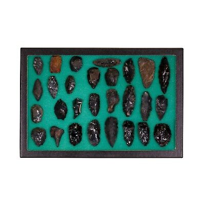 Prehistoric Obsidian Points Knives Scrapers