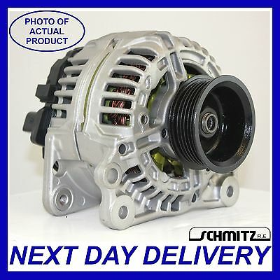 FITS VW T4 TRANSPORTER 25 TDI DIESEL 1998 2003 GENUINE 90AMP BOSCH ALTERNATOR