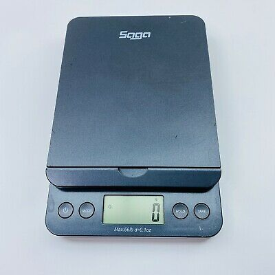 Saga Mercury Pro Postal Scale 66 Lb X 0.1 Oz Digital Weight Postage Shipping