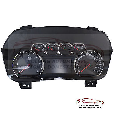 2014 2015 Silverado Pickup Speedometer Cluster OEM New 23259635