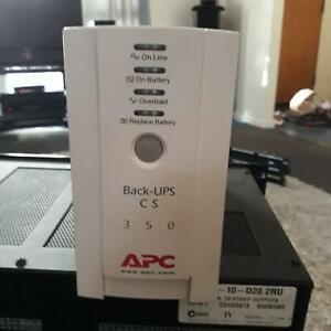 APC BACK-UPS CS 350 POWER UNIT LITHIUM BATTERY Upper Kedron Brisbane North West Preview