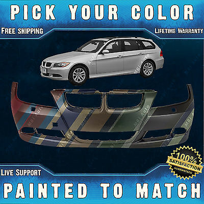 NEW *Painted To Match* - Bumper Cover for 2006-2008 BMW 325i 330i 328i 335i E90