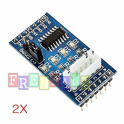 2pcs Stepper Motor Driver Board Module Uln2003 For 5v 28byj-48 Arduino