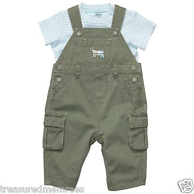 Carter's 2 Piece Overalls and T-Shirt Set ~ Size 6 Months ~ NWT