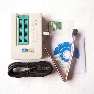 Sofi Sp8-a Programmer Usb Eeprom Flash Spi Bios 2425br9093 Universal Tester