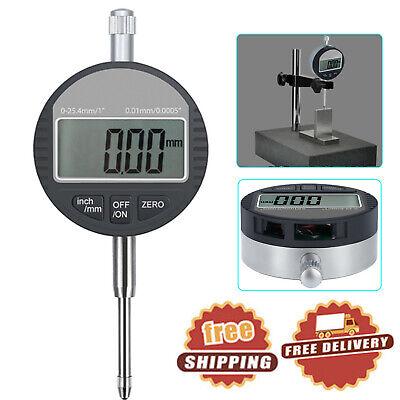 Digital Dial Indicator 0.01mm0.0005 Probe Gauge Range 0-25.4mm1 Precision