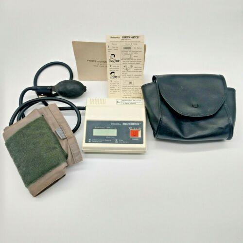 Unisonic Health Watch EBM-1070 9V Blood Pressure Monitor Medical Health Vintage