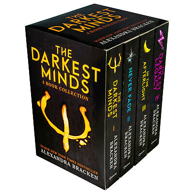 Darkest Minds Series Alexandra Bracken Collection 4 Books Set Novel Pack - NEW