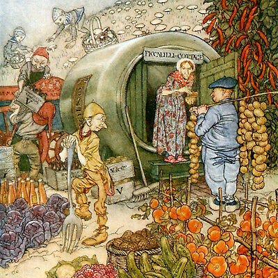 Arthur Rackham: English Fairy Tales - Fine Art Greeting Card