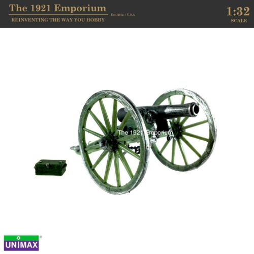 1:32 Unimax Toys Forces of Valor Historical Legends American Civil War Cannon