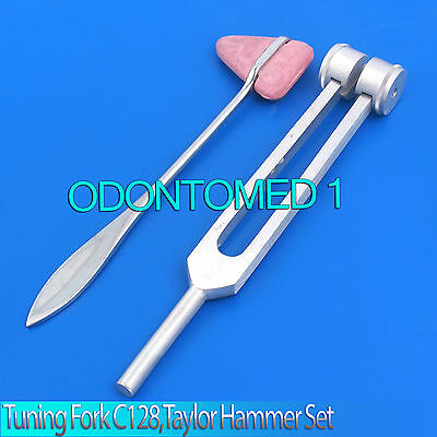 New Tuning Fork 128c Ent Surgical Medical Instruments Exam Diagnostic Tools