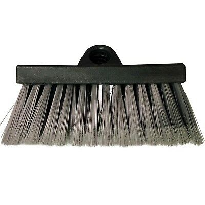 DocaPole Scrub Brush and Deck Brush Extension Pole Attachment | Soft Bristles Bristle Deck Brush