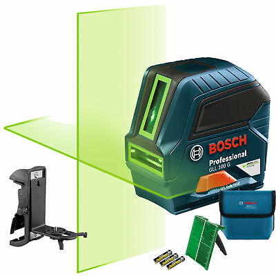 Bosch Gll 100 Gx-rt Recon Self-leveling Green-beam Cross-line Laser