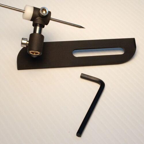 Tungsten Grinder / Sharpener Guide for Bench Grinders   ( Adjustable Grind )