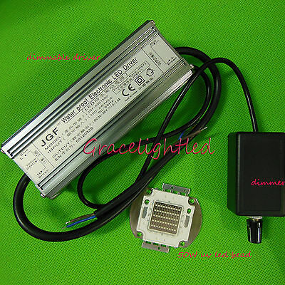 Dimmable Led Driver Waterproof 50w Uv 395-400nm High Power Led Light Dimmer