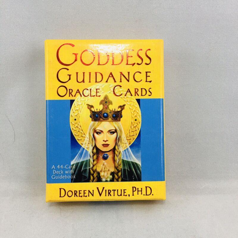 Goddess Guidance Oracle Cards deck GUIDEBOOK original OOP by Doreen Virtue