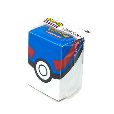 Ultra Pro Pokemon TCG Great Ball Deck Box Card Storage/Holder With Divider