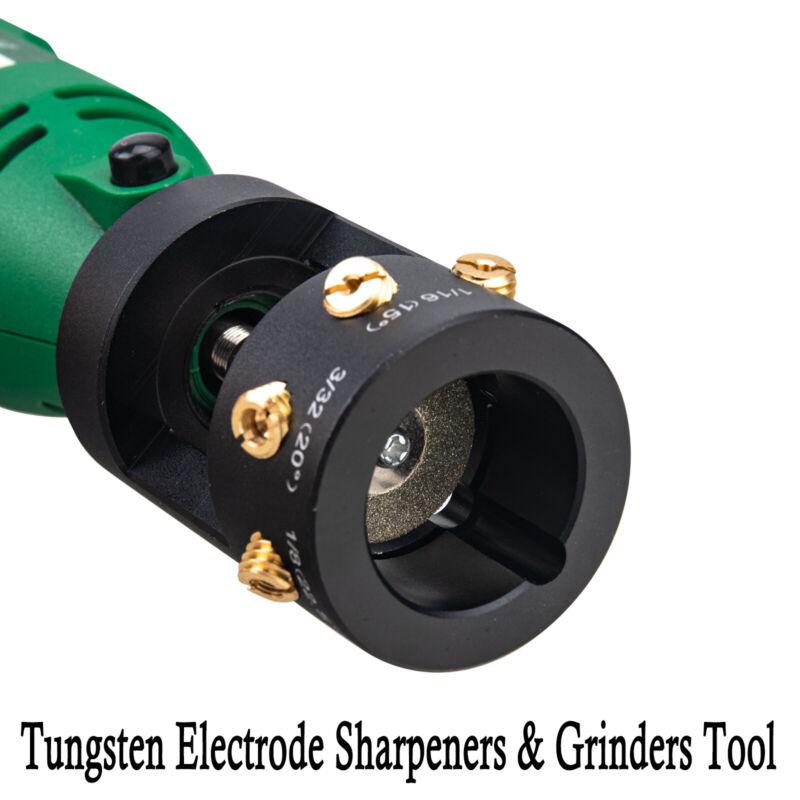 3mirrors TIG Welding Tungsten Electrode Sharpener/ Grinder Multi-Angle & Offsets