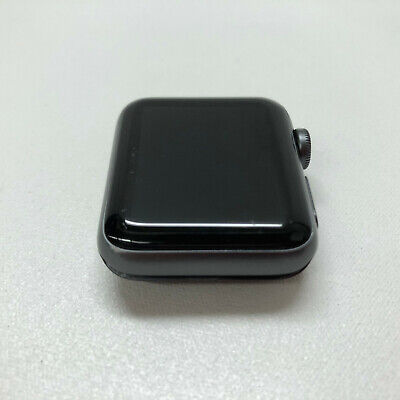 Apple Watch Series 2 38mm Space Gray Aluminum Case Watch, NO BAND