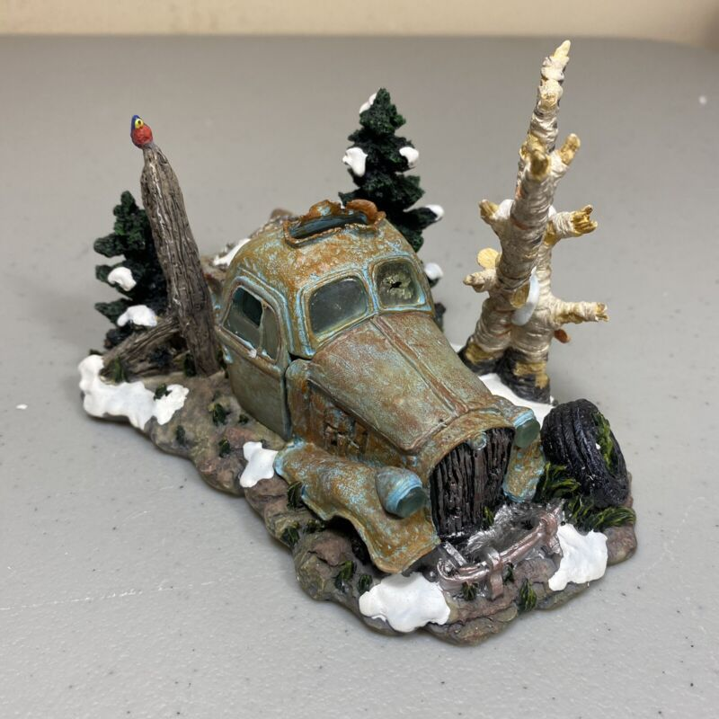 DEPT 56 SNOW VILLAGE BUCKS COUNTY THE OLD PICKUP TRUCK WITH BOX 52868 RETIRED