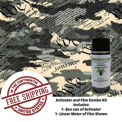 Hydrographic Water Transfer Film Hydro Dip Kit Activator Film We The People