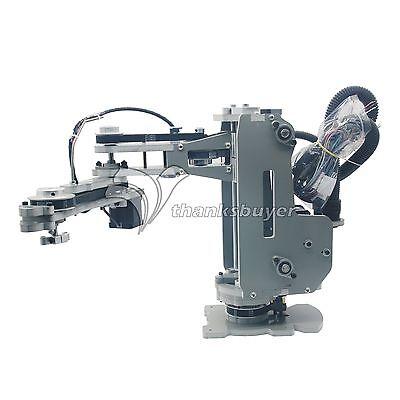 4 Axis Scara Robot Mechanical Arm Hand Manipulator With Stepper Motor Assembled