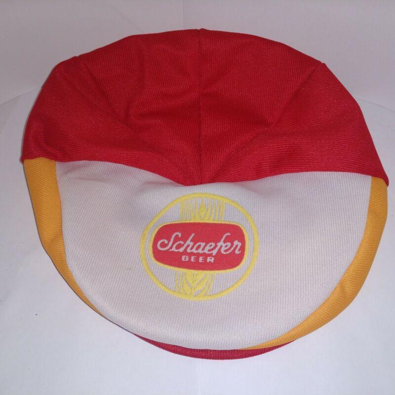 Vintage Schaefer Beer Cap Hat Retro beanie style