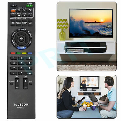 Replacement Sony Bravia TV Remote Control RM-YD081 KDL-32EX358 KDL-40EX458 UK