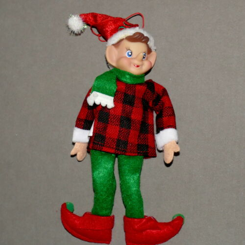 Christmas PIXIE KNEE HUGGER ORNAMENT Special Edition Limited Woodsman USA SELLER