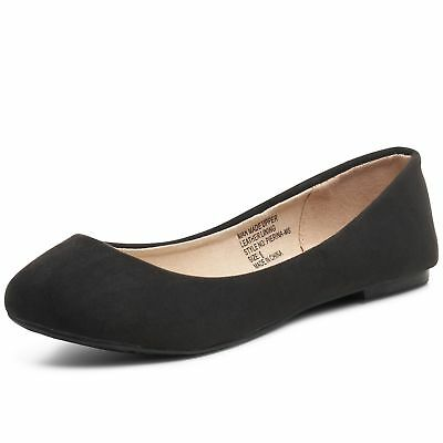 Alpine Swiss Pierina Womens Ballet Flats Leather Lined Classic Slip On - Ballet Flats Womens Shoes