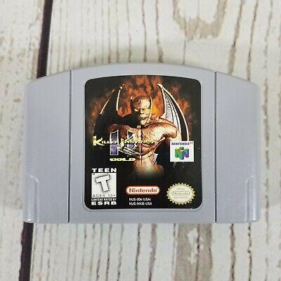 Killer Instinct Gold N64 Nintendo 64 1996 Game Authentic Japan Free Shipping