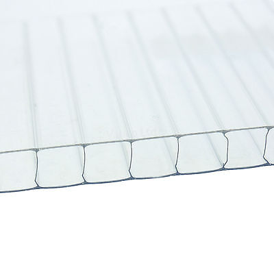 4mm Greenhouse Polycarbonate Replacement Sheets Pack Of 12 Sheets 2ft X 4ft
