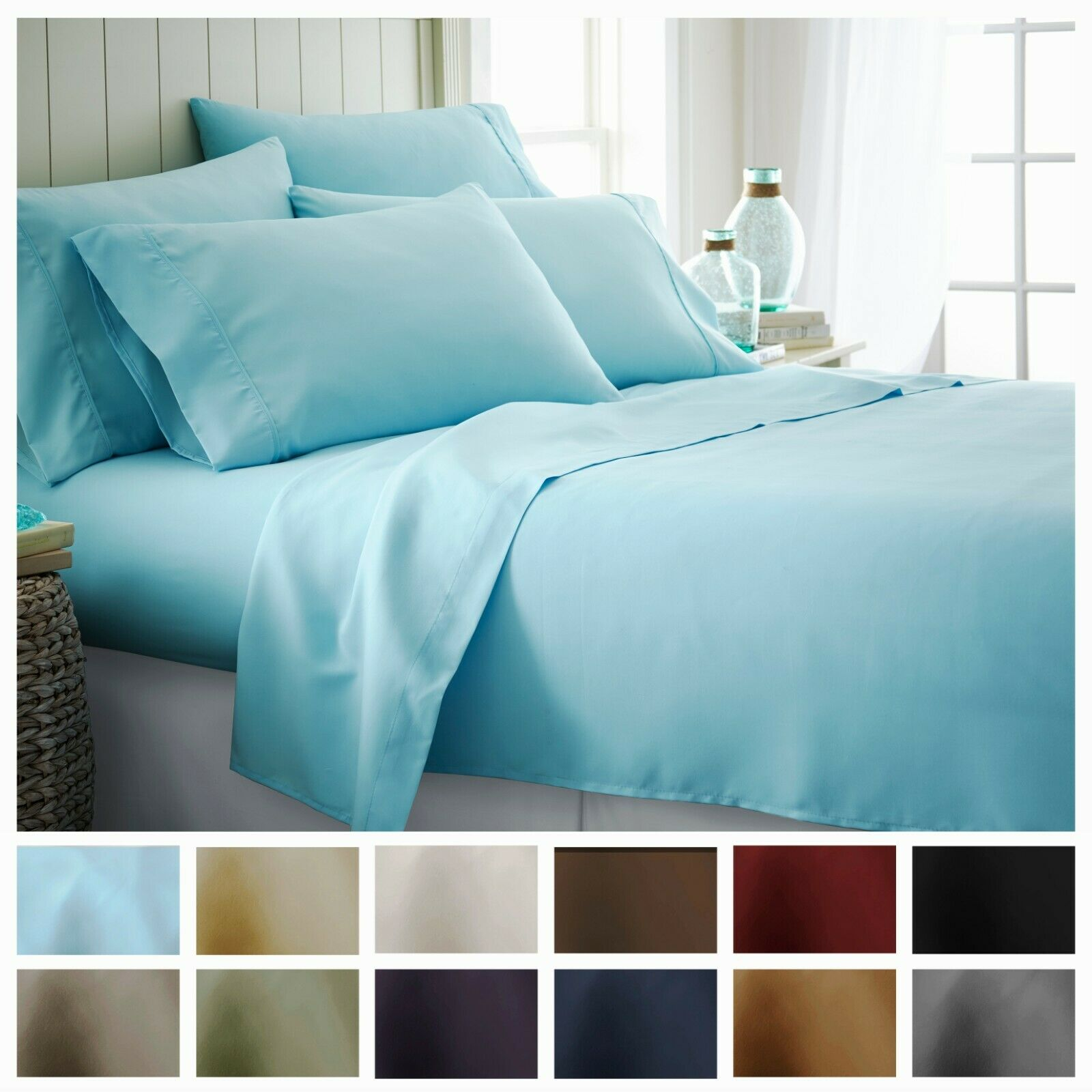 Macy S Hotel Collection Queen Sheet Set For Sale Online Ebay
