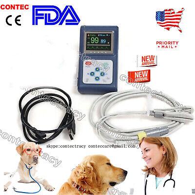 Fda Veterinary Vet Animals Pulse Oximeter Spo2 Monitor Cms60d-vetbatteriesus