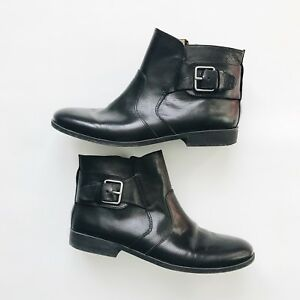 Nine West America Vintage Leather Ankle Boots